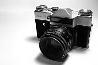 Zenit-E 35-mm SLR