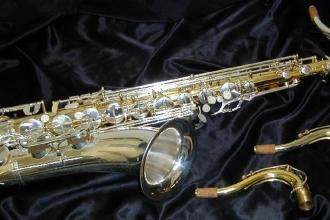 B&H Sterling Medusa tenor sax