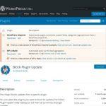 Block Plugin Update